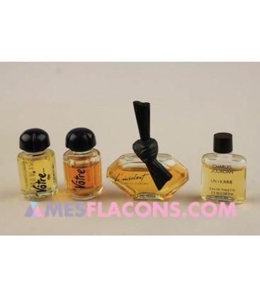 Lot de 4 miniatures mixtes (variantes différentes)