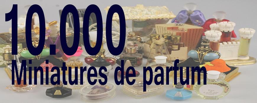 "Announcement of the book ""10.000 miniatures de parfum"""