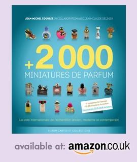 +2000 perfume miniatures available at Amazon
