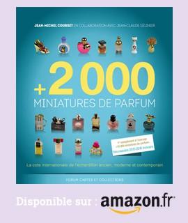 +2000 miniatures de parfum disponible chez Amazon